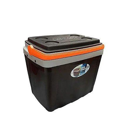 Caixa Plástica Térmica Cooler com Alça 34 Litros Pop Star