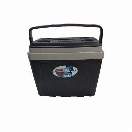 Caixa Plástica Térmica Cooler com Alça 25 Litros Pop Star