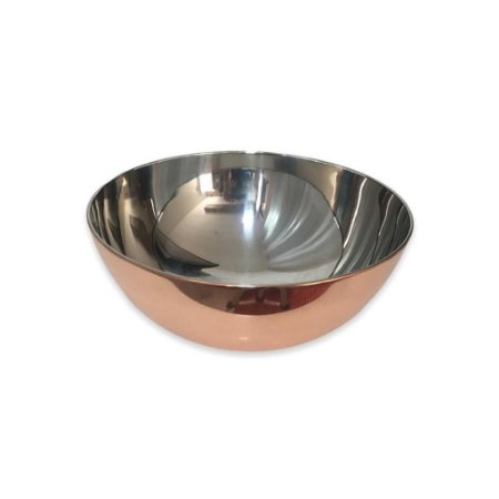 Tigela Bowl em Aço Inox Bronze 28 cm Mimo Style
