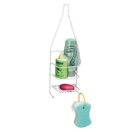 Porta Shampoo E Sabonete Single Emborrachado15x47x10 Arthi