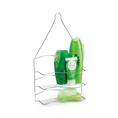 Porta Shampoo Duplo Para Pendurar Aço Galvanizado Arthi