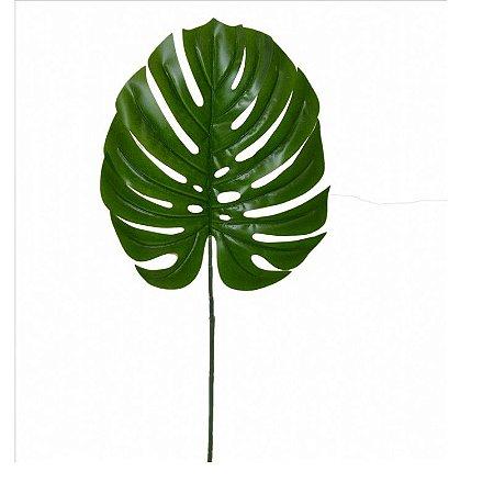 Folha Costela de Adão Toque Real Permanente 72 cm Bela Flor