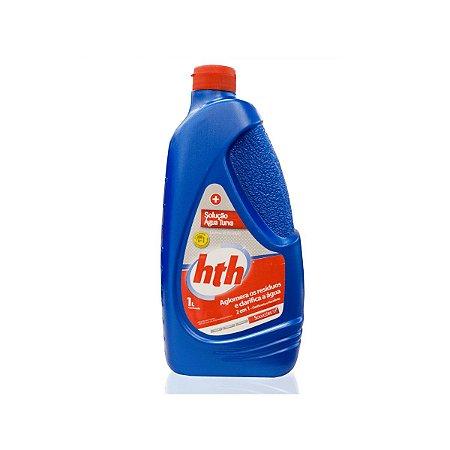 Solução Água Turva Excesso de Resíduos 1 Litro HTH