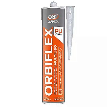 Adesivo de Poliuretano Orbiflex PU Cinza 380g Orbi