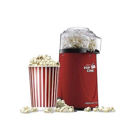 Pipoqueira Pop Cine Vermelha ccom Dosador Agratto