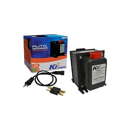 Auto Transformador com Proteção Térmica Bivolt 1050VA KF