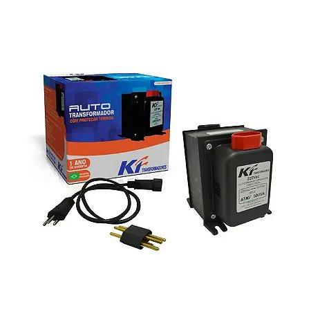 Auto Transformador com Proteção Térmica Bivolt 500VA KF
