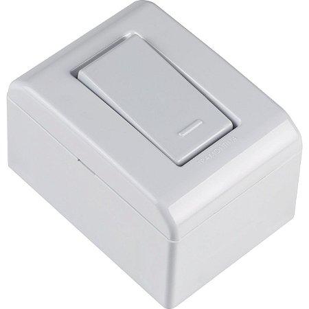 Interruptor Simples 10A 250V Branca Lizflex Tramontina