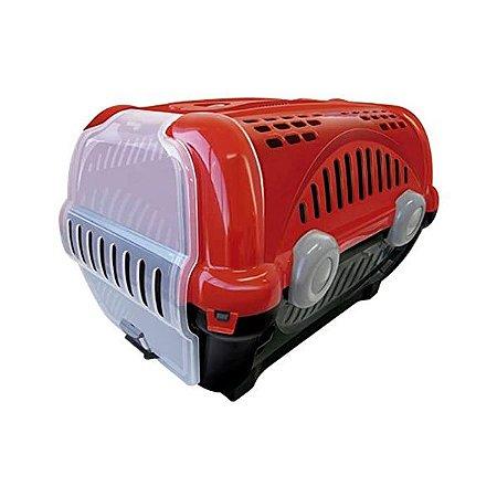 Caixa para Transporte Luxo N.3 Vermelho Furacão Pet