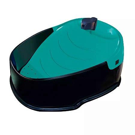 Fonte Pop Verde Tiffany para Cães e Gatos 3 Litros Furacão Pet