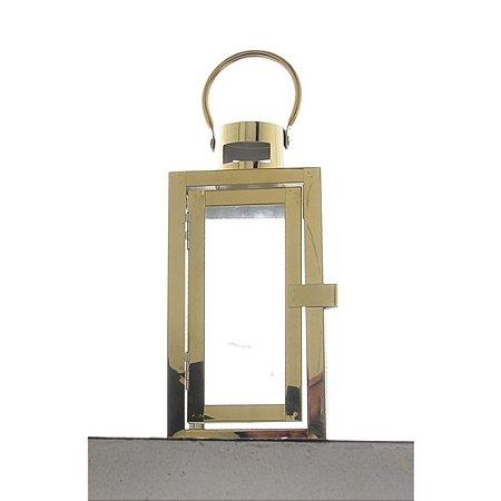 Candelabro Dourado para Enfeite 29x10 cm Bela Flor