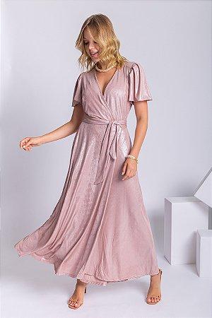 Vestido Wrap Midi Daiane II