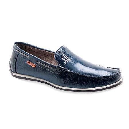 Sapato Mocassim Laroche Masculino Azul