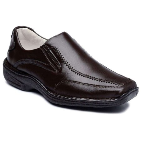 Sapato Casual Masculino Couro de Carneiro Ranster Confort
