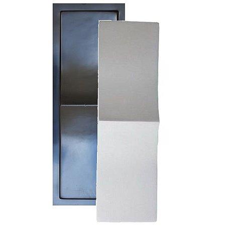 Forma Molde para Gesso 3D e Cimento Modelo Novara 14x49 ABS - Esquadro Perfeito