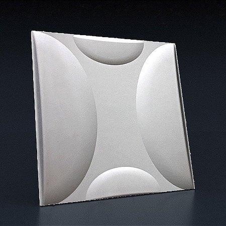 Forma Molde para Gesso 3D e Cimento Modelo Bacio 49x49 ABS - Esquadro Perfeito