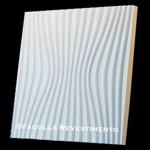 Forma Molde para Gesso 3D e Cimento Modelo Umbria 49x49 ABS - Esquadro Perfeito