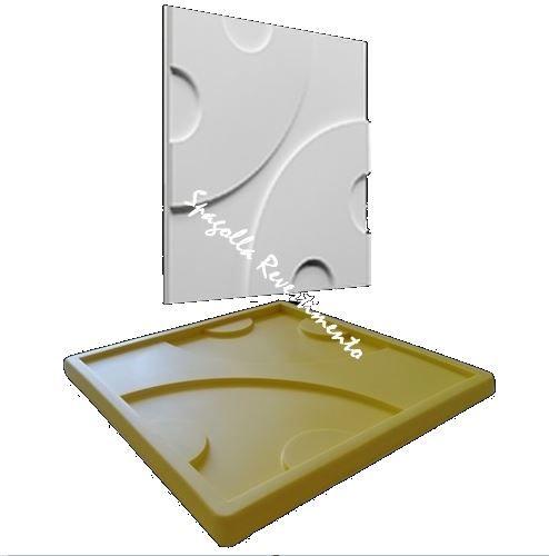 Forma Molde pra Gesso 3D e Cimento Silicone Modelo Bari 29x29 - Esquadro Perfeito