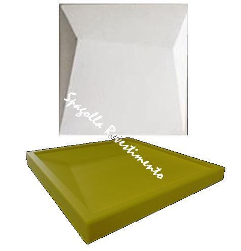 Forma Molde pra Gesso 3D e Cimento Silicone Modelo LINUS 29x29 - Esquadro Perfeito