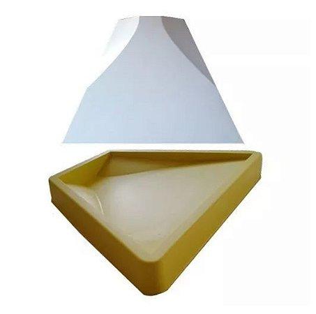Forma Molde pra Gesso 3D e Cimento Silicone Modelo MANTOVA 22x29 - Esquadro Perfeito