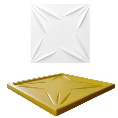 Forma Molde pra Gesso 3D e Cimento Silicone Modelo Molda 29x29 - Esquadro Perfeito