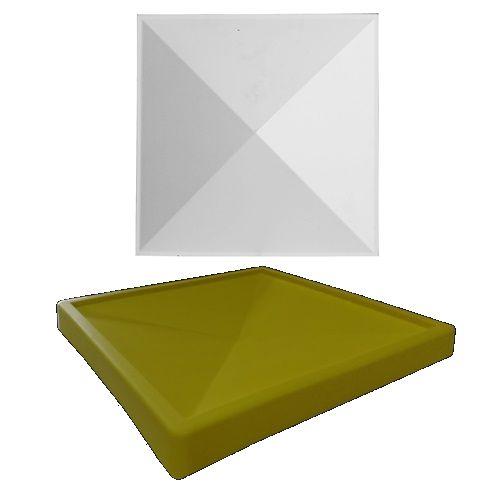 Forma Molde pra Gesso 3D e Cimento Silicone Modelo Parma 29x29 - Esquadro Perfeito