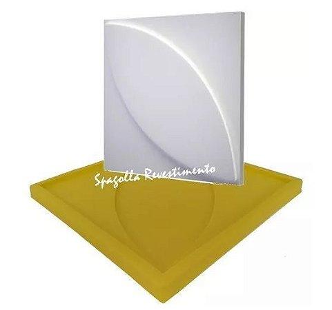 Forma Molde pra Gesso 3D e Cimento Silicone Modelo Pétala Florença 29x29 - Esquadro Perfeito