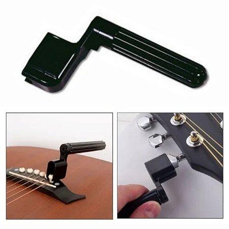 Encordoador Paganini para Violão e Guitarra (Manivela Enrolador de Cordas)
