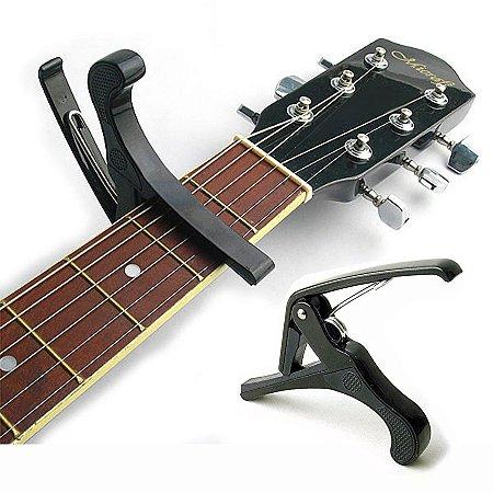 Capotraste (Braçadeira Pestana) de Alumínio para Violão e Guitarra