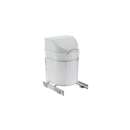Lixeira Deslizante Simples C/Cesto 12 L