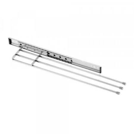 Porta Toalhas S/ Blindagem Cromado 95x45x450mm SCHIMITT