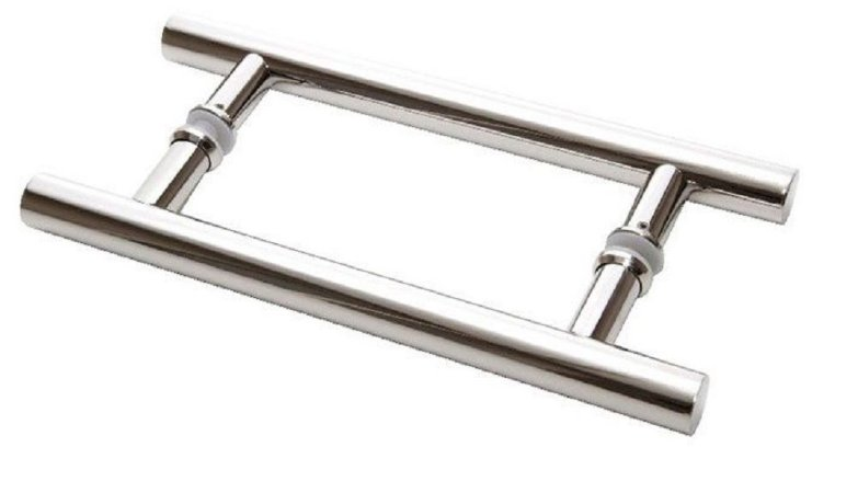 Puxador Para Móveis Porta Df 907 32x800 Inox Polido 202 Duplo ITALYLINE