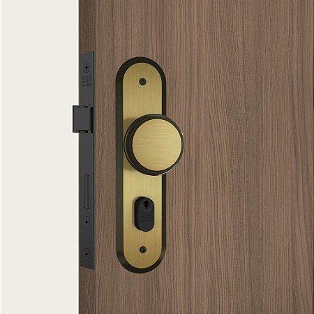 Fechadura 804/02 Fixa Externa Espelho Oxidado