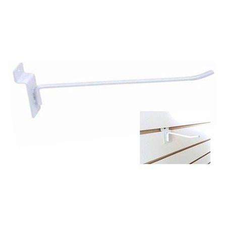 Ganchos Expositor 15cm Branco Para Painel Canaletado