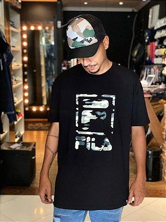 Camiseta Masculina Fila Stack New 980096