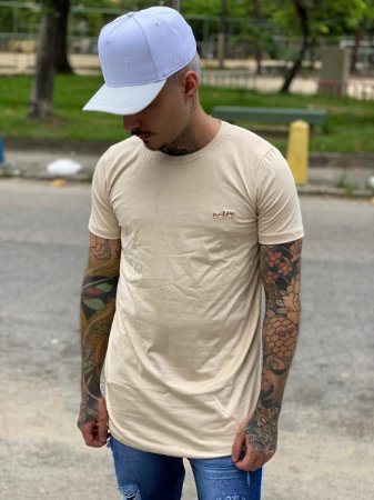 Camisa Long Suede Nifty Beige