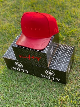 Boné Nifty Red/Red