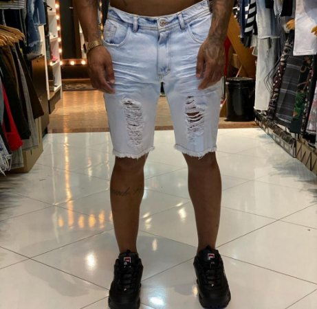 Bermuda Jeans Nifty Band Clear