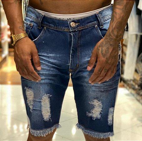 Bermuda Jeans Nifty Band Indigo