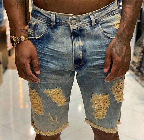 Bermuda Jeans Nifty Creamy