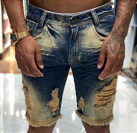 Bermuda Jeans Nifty Greenish 2