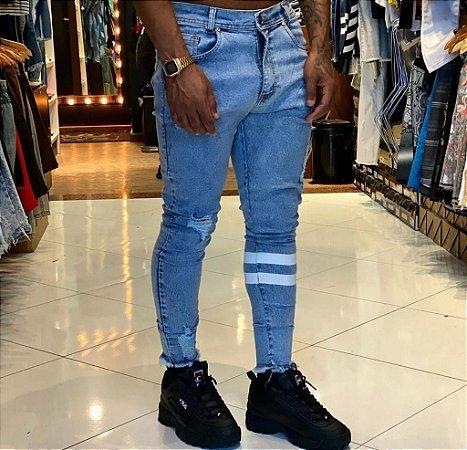 Calça Jeans Nifty Cinnamom Stripe