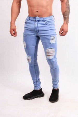 Calça Jeans Nifty Destroyed Clear