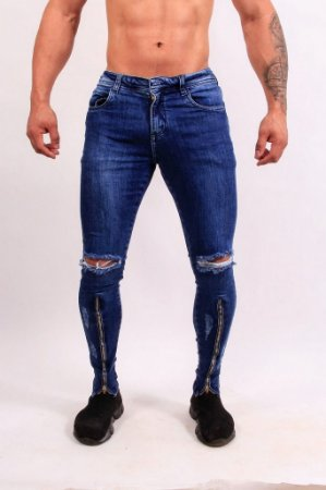 Calça Jeans Nifty Long Ziper