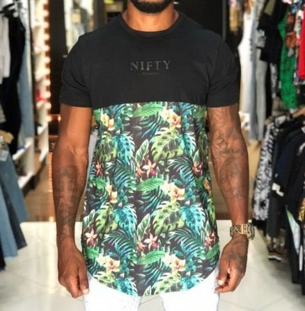 Camiseta Nifty Divided Flowers Dn02