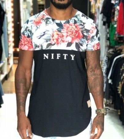 Camiseta Nifty Divided Flowers Up02