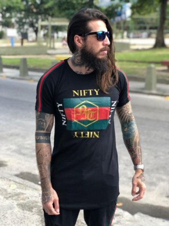 Camiseta Nifty Italy 1 Black