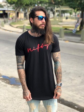 Camiseta Nifty UseNifty Black/Red