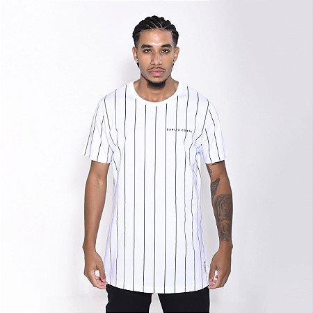 Camiseta Dabliu Costa Stripes White