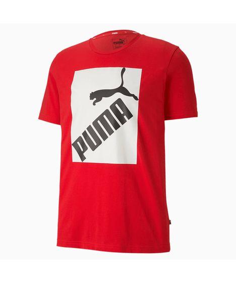 Camiseta Puma Big Logo Red